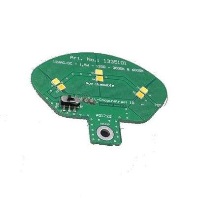 Lichtbron 12V - 3x SMD LED - 1W - 3000/6000K