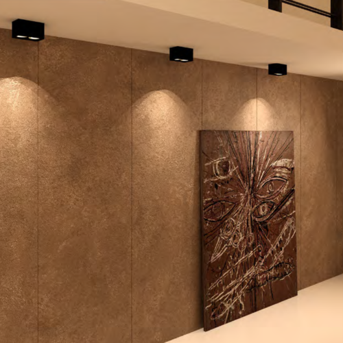 Lightexpert LED Opbouw plafondspot - Rechthoek - Kantelbaar - Dimbaar  - Dubbele lamp - Zwart