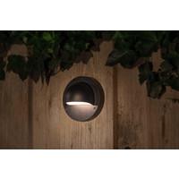 Garden Lights Wandlamp Buiten LED - Deimos Zwart 4 st. - 12V - 1W