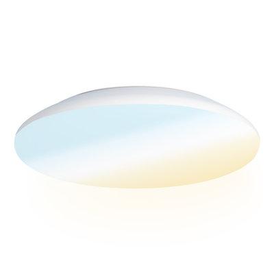 LED Plafondlamp - 2600 Lumen  -  IP65 - 25W - Lichtkleur instelbaar - Wit