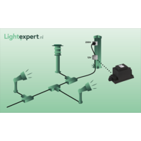 Garden Lights LED Breedstraler Tuin - Flood 12 - 12V - 12W