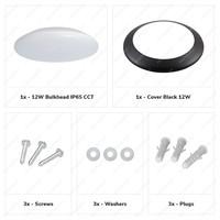Lightexpert LED Plafondlamp - Dimbaar - 2600Lumen  - IP65 - 25W - Lichtkleur instelbaar - Wit