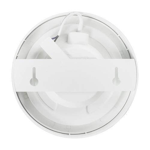 Lightexpert LED Plafondlamp - Rond  - 12W - 750 Lumen - IP20 - 3000K  - Wit - Ø18 cm