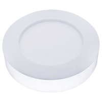 Lightexpert LED Plafondlamp - Rond - 20W - 1450 Lumen - IP20 - 4000K - Wit - Ø25 cm
