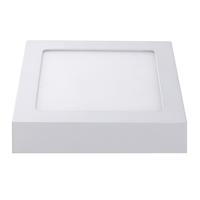Lightexpert LED Plafondlamp  - Vierkant - 12W - 750 Lumen - IP20 - 3000K  - Wit - 177 x 177 x 35 mm