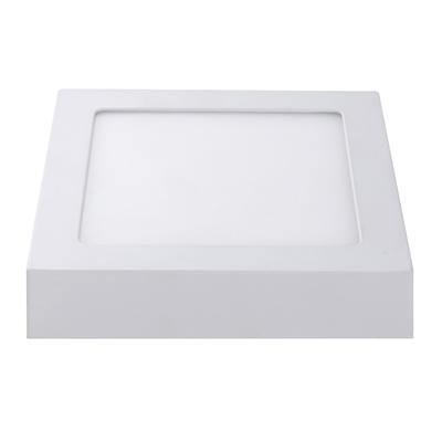 LED Plafondlamp  - Vierkant - 18W - 1300 Lumen - IP20 - 3000K  - Wit
