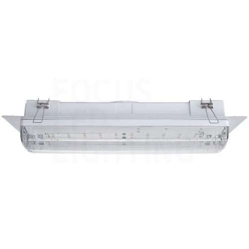 Lightexpert Inbouwframe - LED Bulkhead 3W