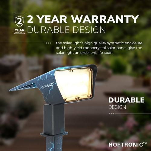 Lightexpert LED Solar Tuinspot - 3000K - IP65