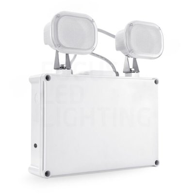Twinspot LED - 2x 6W - IP65