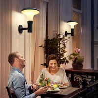 Lightexpert LED Solar wandlamp - 4.5W - 3000K - IP65