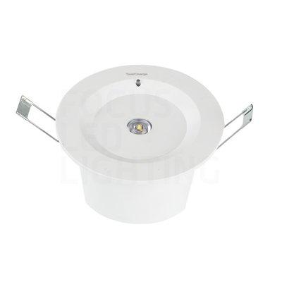 LED Anti Paniekverlichting - Inbouw - 3W