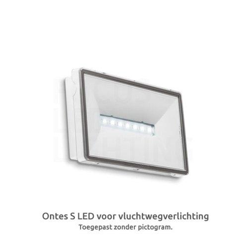 Lightexpert Ontec S - LED Noodverlichting - Opbouw - 2W