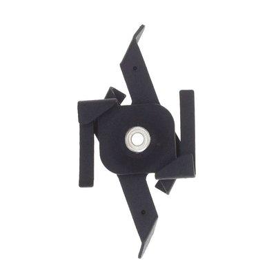 Pendelclip 3-Fase Rail - Zwart