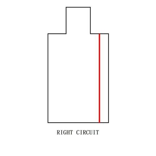 Lightexpert Power Connector Right - Zwart