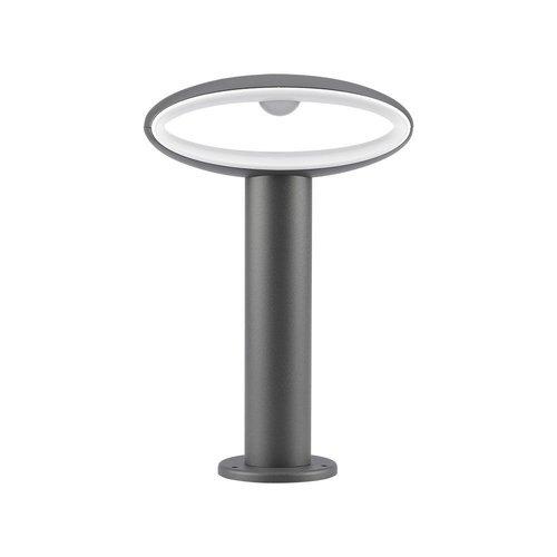 Lightexpert LED Sokkellamp Salem - 9W - 3000K - IP54 - 30cm - Antraciet