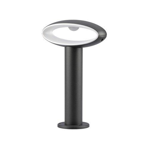Lightexpert LED Sokkellamp Salem - 9W - 4000K - IP54 - 30cm - Antraciet