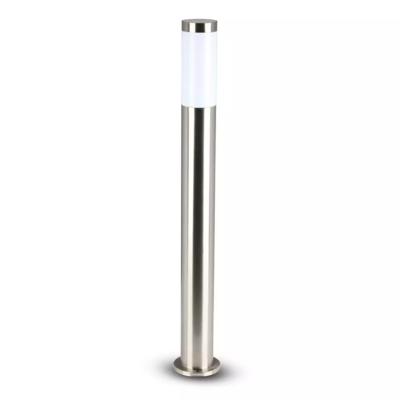 LED Sokkellamp Dally L - E27 Fitting - IP44 - 80cm - RVS