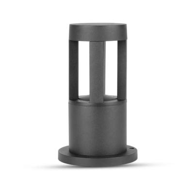 LED Sokkellamp Labo - 10W - 3000K - IP65 - 25cm - Zwart