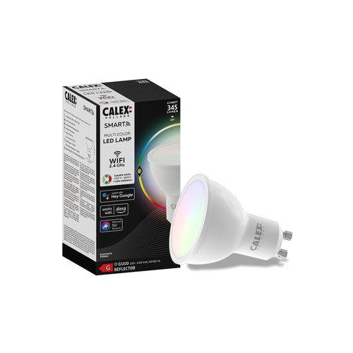 Calex Calex Smart RGB+CCT GU10 LED Spot Dimbaar - 5W