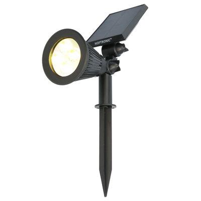 LED Solar Tuinspot - 200 Lumen - 3000K - IP65  - 2 Jaar Garantie
