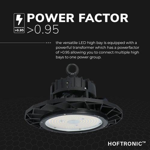 Lightexpert Samsung LED High Bay 150W - 120° - 160lm/W - 4000K - IP65 - Dimbaar - 5 Jaar Garantie