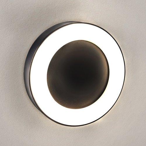 Ledvion LED Wandlamp Met Sensor Thebe - Zwart
