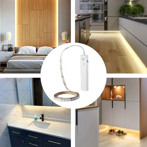 Lightexpert LED Strip - 1 Meter - 2700K - 2.4W - Incl. bewegingssensor