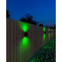 Calex Calex Slimme Wandlamp Up & Down - RGB - IP44 - Smart tuinverlichting