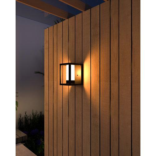 Calex Calex Slimme Industriële Wandlamp - RGB - IP44 - Smart tuinverlichting