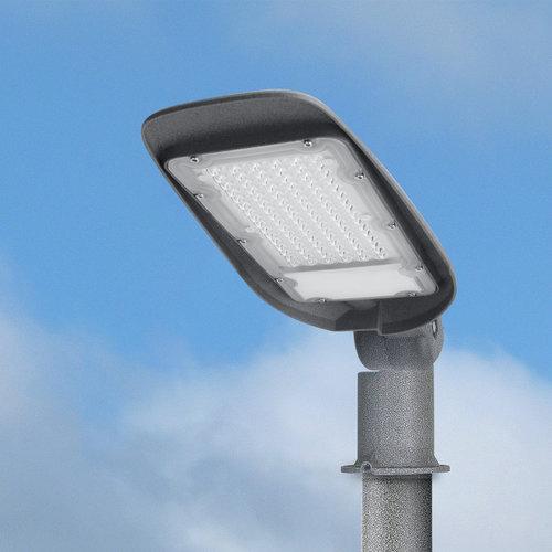 Lightexpert LED Straatlamp 100W - 6500K - IP65 - 10000 Lumen Lumen