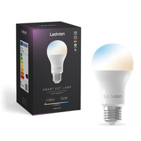 Ledvion Ledvion Smart CCT E27 LED Lamp - 2700-6500K - Wifi - Dimbaar - 8W