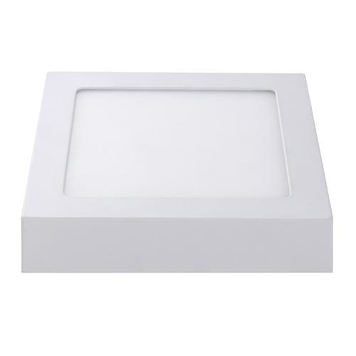 Lightexpert LED Plafondlamp  - Vierkant - 18W - 1300 Lumen - IP20 - 6000K  - Wit - 227 x 227 x 35 mm