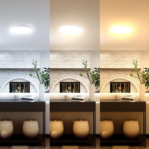 Lightexpert LED Plafondlamp - 24W - Lichtkleur instelbaar - IP20 - 2040 Lumen - Ø35 cm