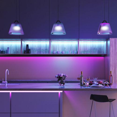 Lightexpert 2x 5M LED Strip RGBW met Bewegingssensor - Dimbaar - Plug & Play