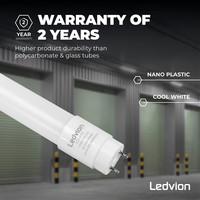 Ledvion LED TL Buis 60CM - 7W - 6500K - 1120 Lumen - High Efficiency