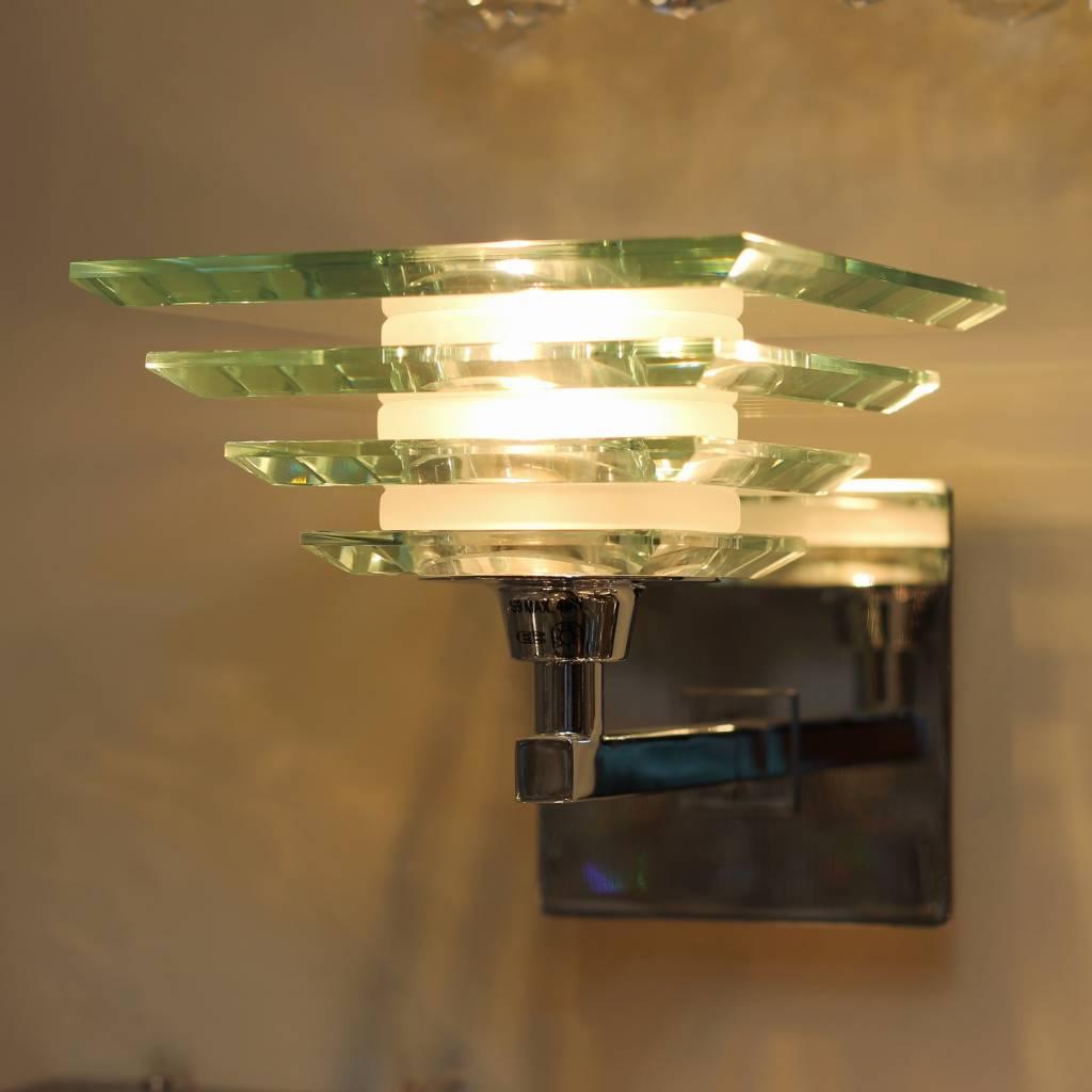 Art Deco Gl Wall Light