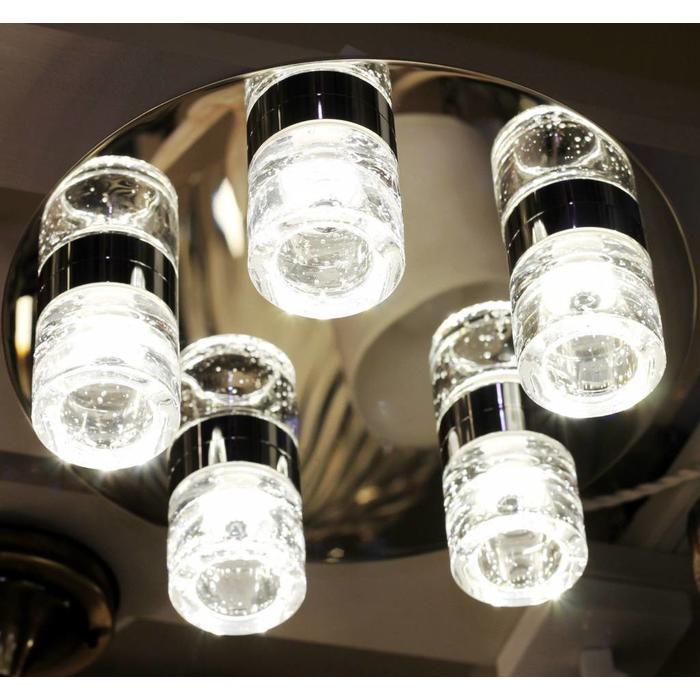 LED Bathroom Fitting - Polished Chrome