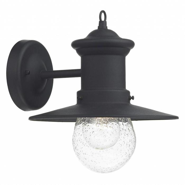 Outdoor Lantern Wall Light - Black