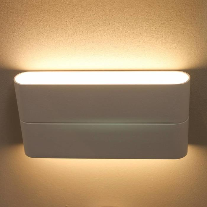 Outdoor LED Up and Down Lighter - White