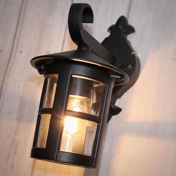 Classic Outdoor Wall Light - Black