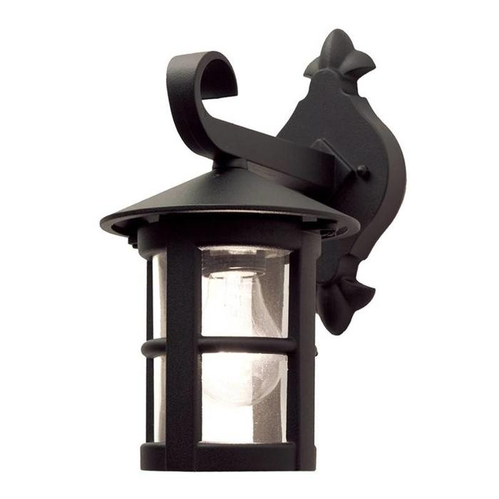 Classic Outdoor Wall Light - Black