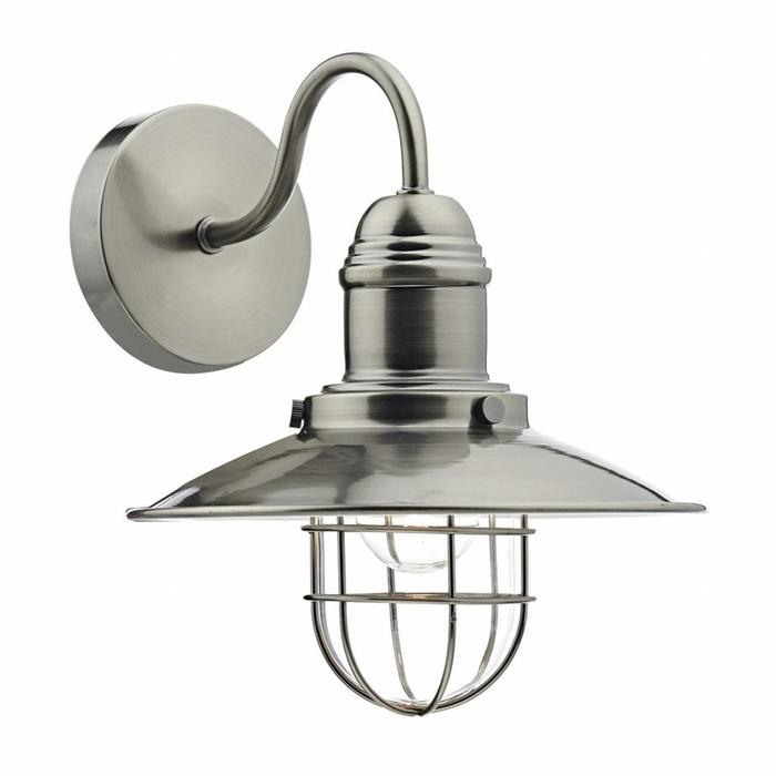 Fishermans Wall Light - Antique Chrome