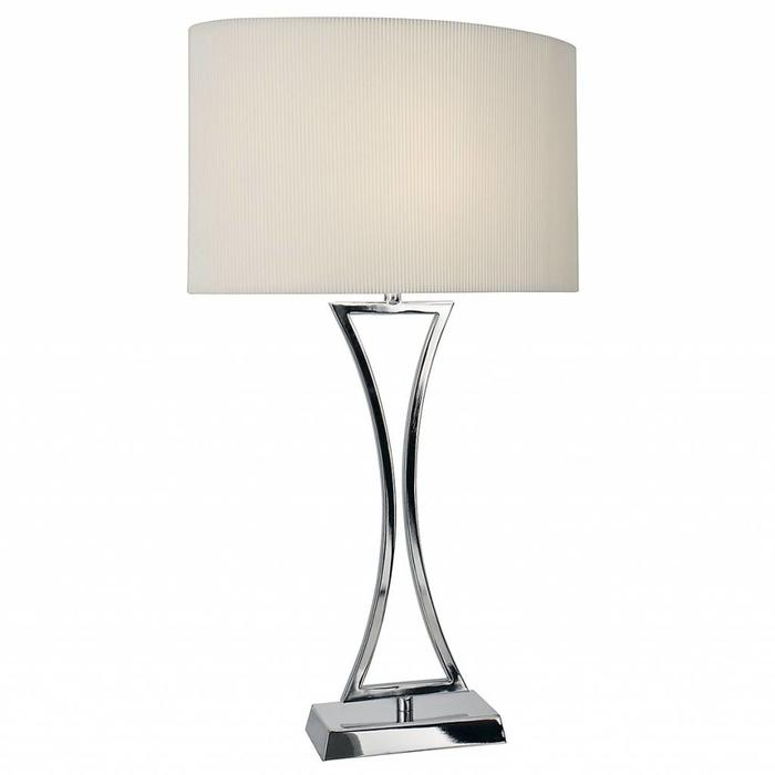 Art Deco Chrome Table Lamp