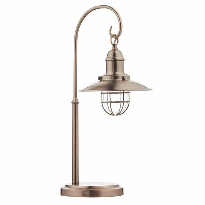 Fishermans Table Lamp - Antique Copper