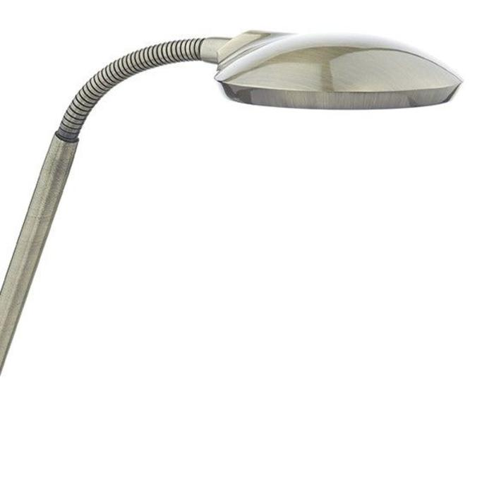 LED Reading Lamp - Antique Brass