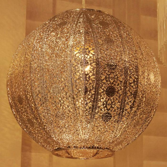 Morrocan Style Shade - Easy Fit Pendant Shade