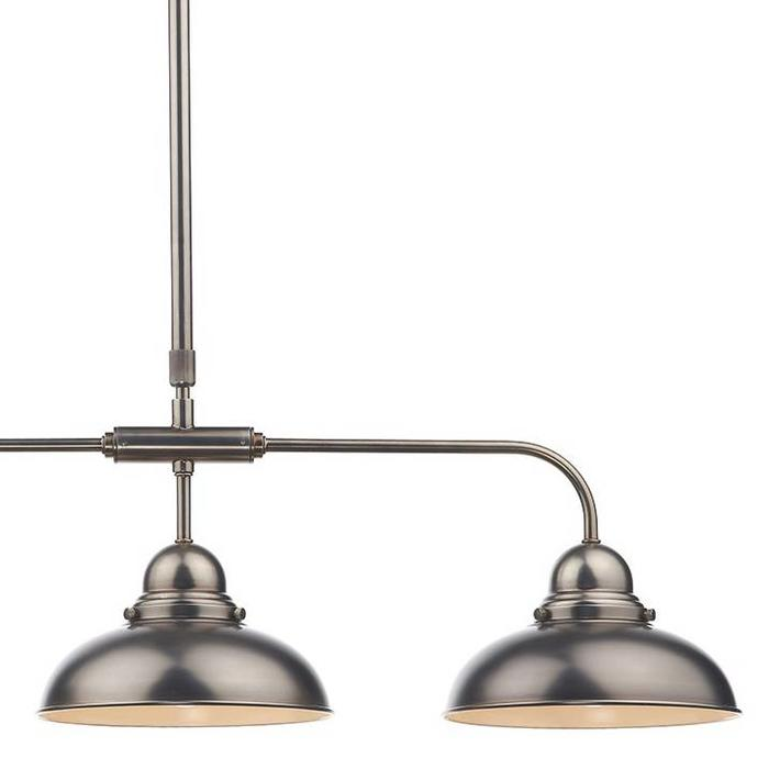 Retro Antique Chrome 3 Light Bar Pendant