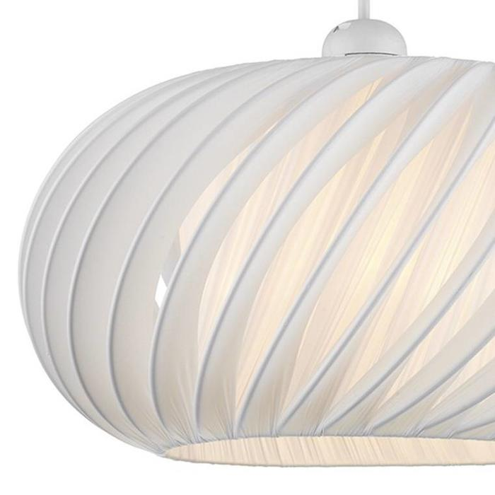 Contemporary White Shade - Easy Fit - Small