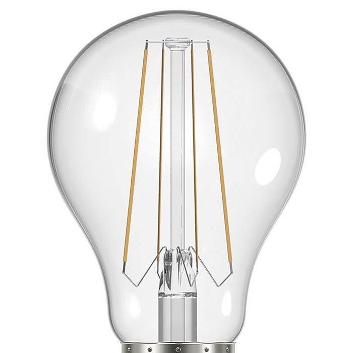 Clear Edison Screw GLS LED - 8W