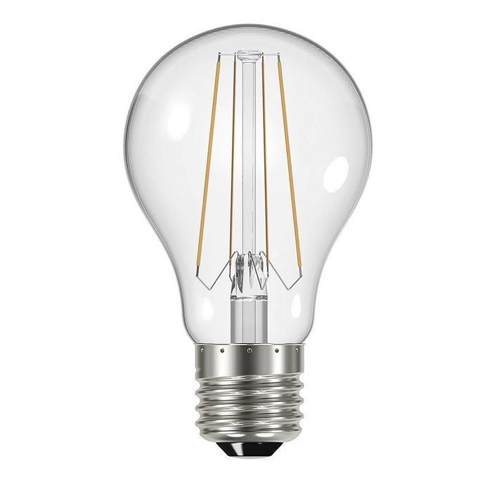 Clear Edison Screw GLS LED - 6.2W